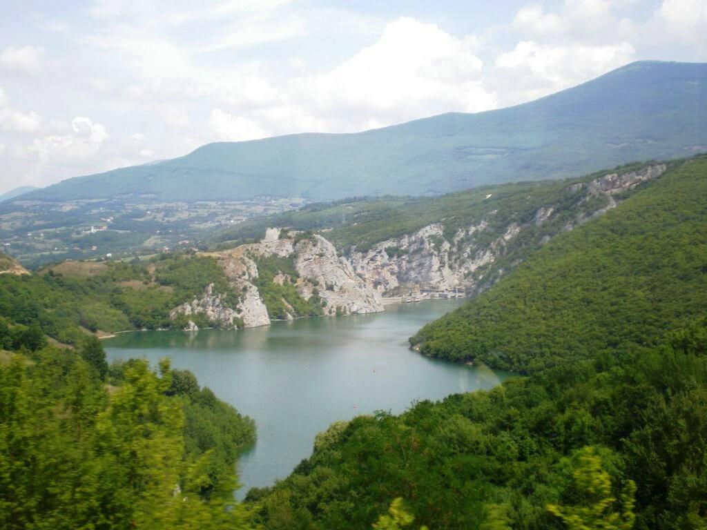 Jezero Bočac na rijeci Vrbas